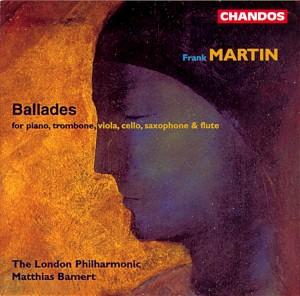 Frank Martin Ballades front