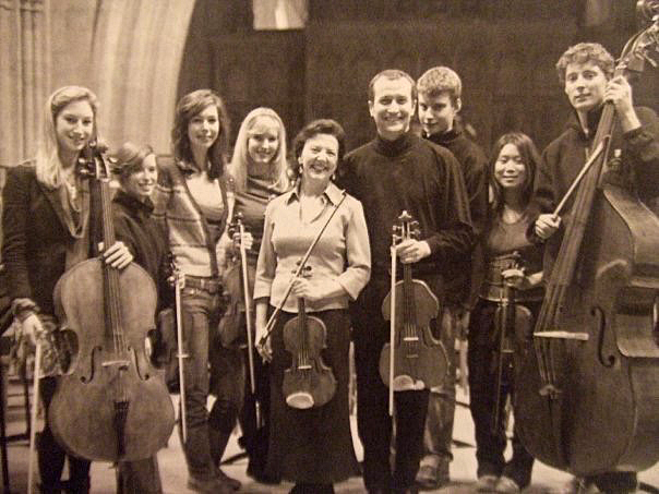 Wells Cathedral - Tasmin Little - Mozart Sinfonia Concertante
